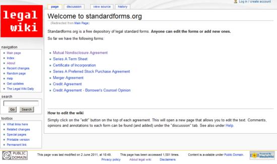 standardforms.org